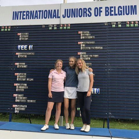 internationaux de belgique girls boys r sultats tour 2 golf hauts de france. Black Bedroom Furniture Sets. Home Design Ideas